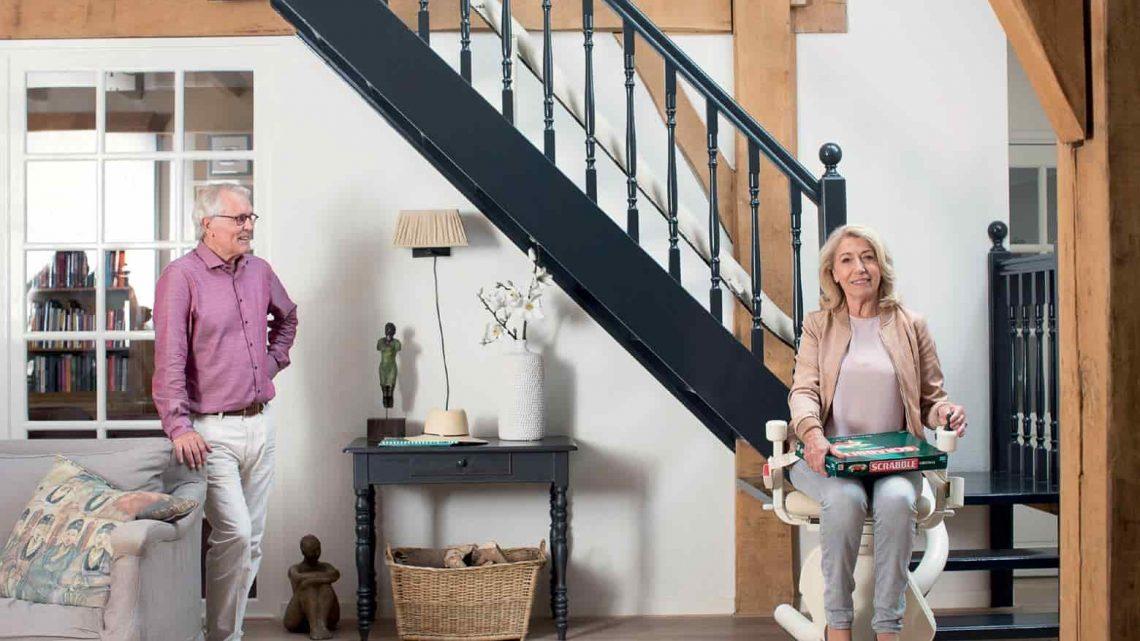 Vous avez une cérémonie? Optez pour le monte-escalier?